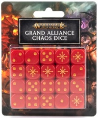Age Of Sigmar: Grand Alliance Chaos - Dice Set