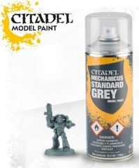 Mechanicus Standard Grey Spray 62-26