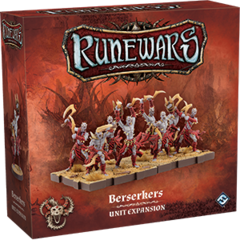 Runewars Miniatures Game: Uthuk - Berserkers Unit
