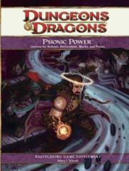 Psionic Power (D&D 4th ed. 2010)