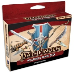 Pathfinder RPG (2nd Edition) Cards: Weapons & Armor Deck