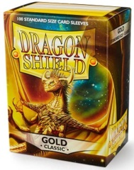 Dragon Shield: Standard - Gold, 100-count box