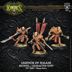 Legends of Halaak - character unit