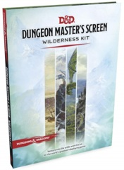 D&D Accessory: Dungeon Master's Screen - Wilderness Kit