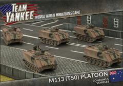 TABX02: M113 (T50) Platoon (Plastic)