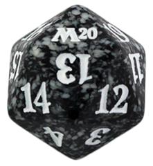 Magic Spindown Die - Core Set 2020 - Black