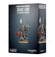 Chaos Space Marines - Chaos Lord in Terminator Armour