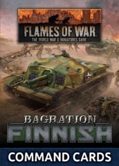 FW269FC: Finnish Command Card Pack (23x Cards)