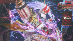 Cardfight!! Vanguard G: Booster 11 Demonic Advent - Sneak Preview Playmat