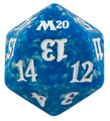 Magic Spindown Die - Core Set 2020 - Blue
