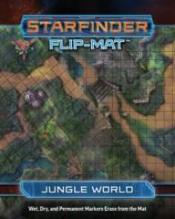 Starfinder Flip-Mat - Jungle World