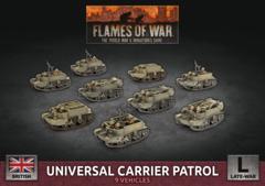 BBX55: Universal Carrier Patrol (Plastic)