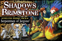 Shadows of Brimstone: Deluxe Enemy Pack - Serpentmen of Jargono