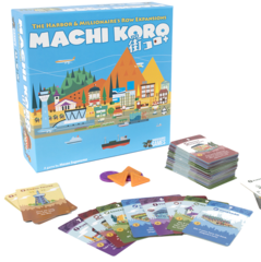 Machi Koro: Harbor and Millionnaire's Row Expansions (5th Annivesary)