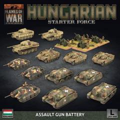 HUAB01: Hungarian Starter Force: Zrinyi Assault Gun Battery (Plastic)