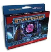 Starfinder Cards: Deck of Many Worlds