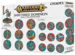 Shattered Dominion: 25 & 32mm Round bases 66-96