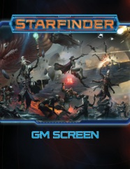 The Sage's Shoppe - Starfinder RPG: Gamemaster Screen - Role