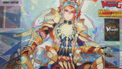 Cardfight!! Vanguard G: Booster 07 Glorious Bravery of Radiant Sword - Sneak Preview Playmat