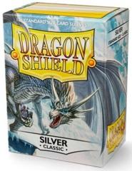 Dragon Shield 10008: Standard - Classic Silver, 100ct box