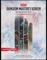 D&D Accessory: Dungeon Master's Screen - Dungeon Kit