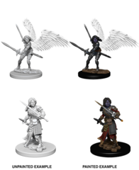 Nolzur's Marvelous Miniatures - Aasimar Paladin (Female)