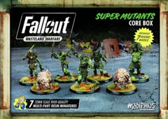 Fallout: Wasteland Warfare - Faction - Super Mutants, Core Box