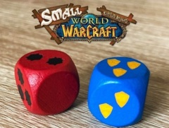 Small World of Warcraft - Limited Pair of Dice
