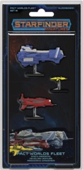 Starfinder RPG Miniatures: Pact Worlds Fleet Set #1