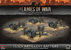 GBX117: 10.5cm Artillery Battery (Plastic)