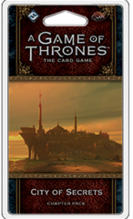 A Game of Thrones: The Card Game (2nd Edition) Chapter Pack - City of Secrets