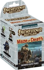 Pathfinder Battles Miniatures: Maze Of Death - Booster