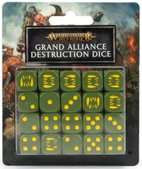 Age Of Sigmar: Grand Alliance Destruction - Dice Set