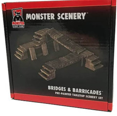 Monster Fight Club: Monster Scenery - Bridges & Barricades (Pre-Painted)
