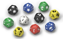 Fallout: Wasteland Warfare - Accessory - Extra Dice Set