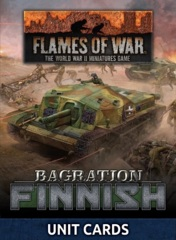 FW269FU: Finnish Unit Card Pack (30x Cards)