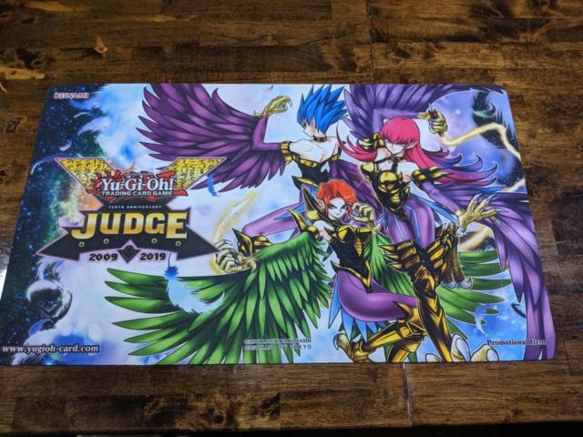 Yugioh 2019 Travel Assist Judge Playmat Official - Harpies Elegance