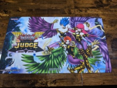 Yugioh 2019 Travel Assist Judge Playmat Official - Harpies Elegance