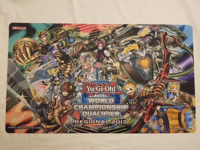 Yugioh 2016 World Championship Qualifier Phantom Knights Playmat New Play 3Q6
