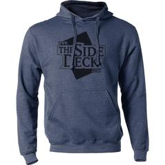 The Side Deck Hoodie - Heather Denim - 50/50 Blend