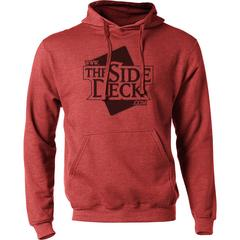 The Side Deck Hoodie - Heather Red - 50/50 Blend