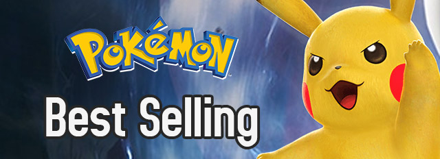 Best Selling Pokemon