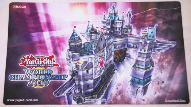 Yugioh World Championship 2019 Playmat - Skyfaring Castle of the Black Forest