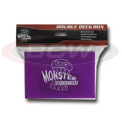 Monster Double Deck Box - Matte Purple