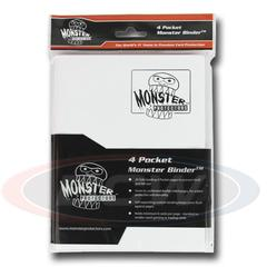Monster Protectors 4 Pocket Matte White