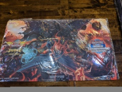 Yugioh 2019 NAWCQ Judge Playmat Exclusive - Cherubini Ebon Angel of the Burning Abyss Playmat