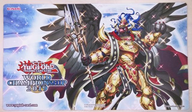 Yugioh World Championship 2019 Playmat - Kaiser Eagle, The Heavens Mandate