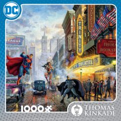CEACO Thomas Kinkade - DC Comics - The Trinity Puzzle - 1000 Pieces