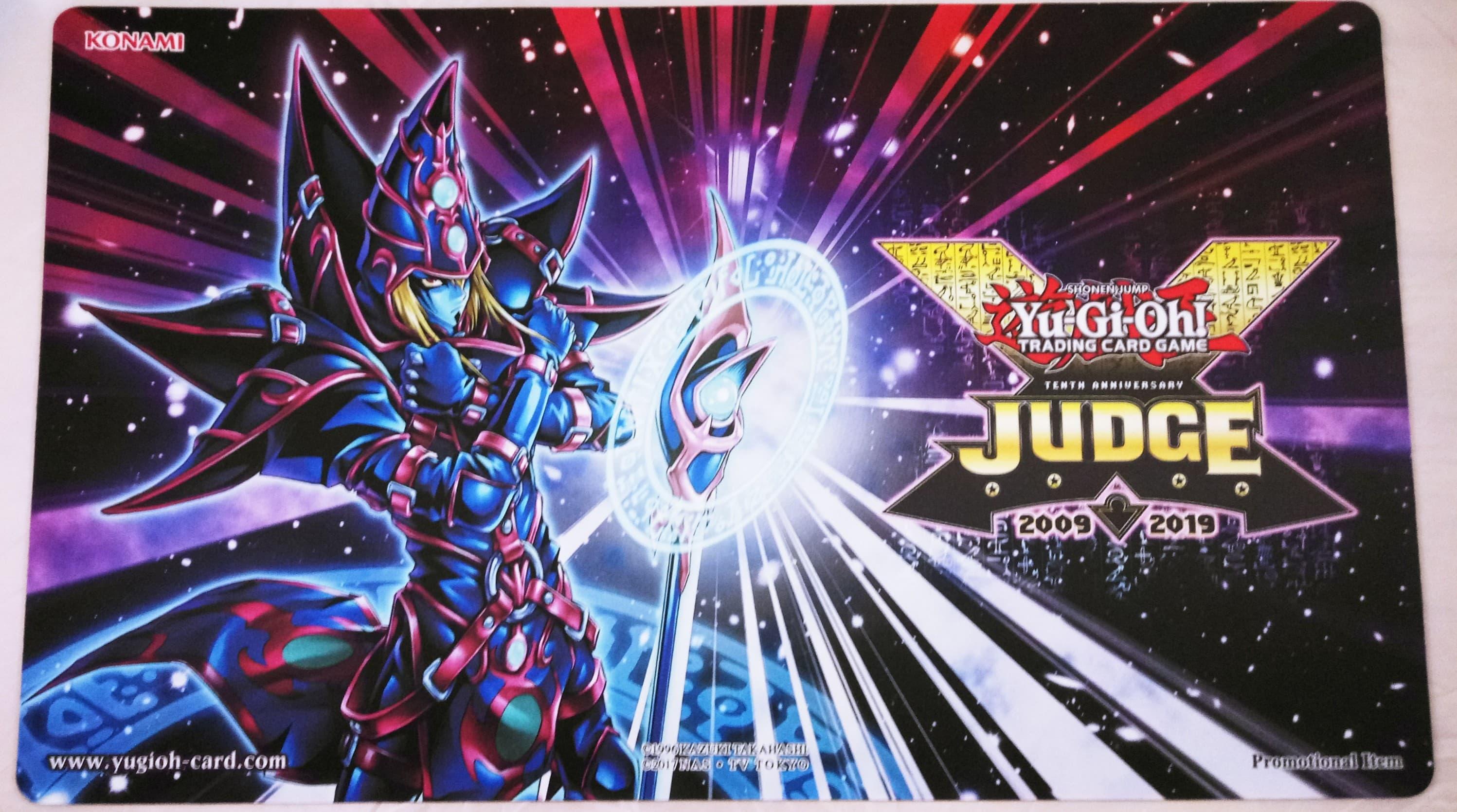 Yugioh 2019 Judge Playmat - Magician of Chaos