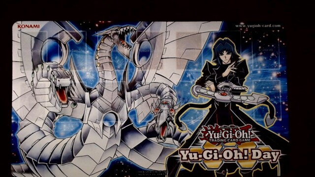Yugioh Day Zane Truesdale Cyber End Dragon Playmat
